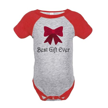 Custom Party Shop Baby's Best Gift Ever Christmas Onepiece Red - 18