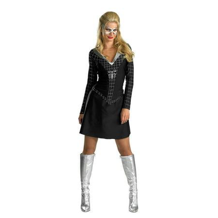 Marvel Collection Black-Suited Spider-Girl Adult Costume Large (12-14)](Black Spider Costume)