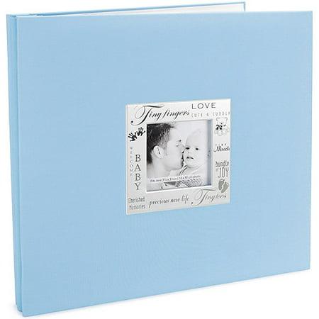 Expressions Baby Postbound Album 12''X12'', Blue (Album Kit)