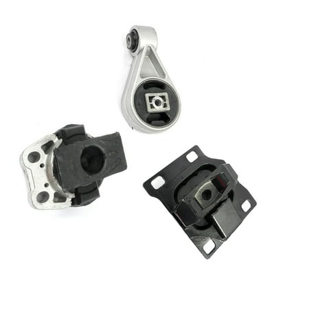 Fits: 2005-2007 Ford Focus 2.0L Engine Motor & Trans. Mount Set 3PCS for Auto Transmission 05 06 07 A5312 A2939 A2986.