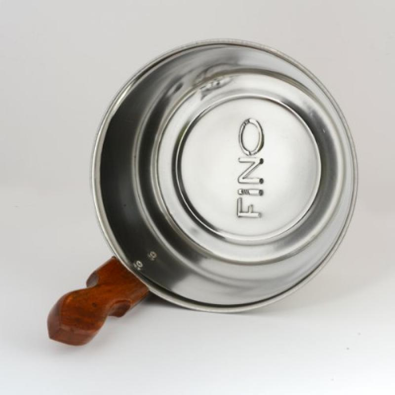 Luxury Finnish Sauna Bucket in Stainless Steel