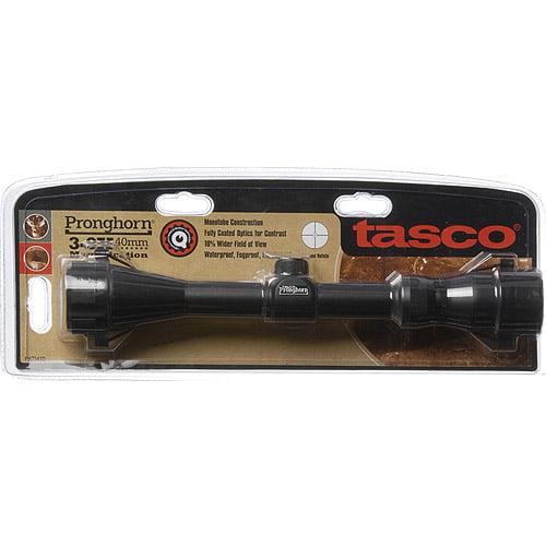 Tasco Pronghorn 3-9x 40mm Riflescope, Black Matte