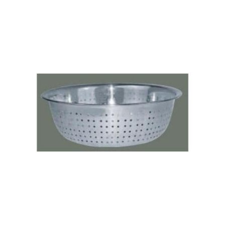 Winco CCOD-11S Chinese Colander with 2.5 mm Holes, 11-Inch, Stainless Steel