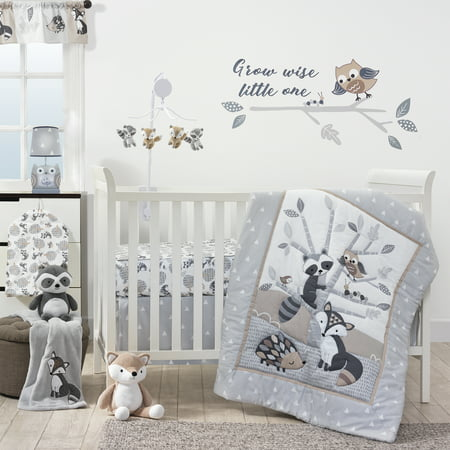 Lambs & Ivy Bedtime Originals Little Rascals 3 Piece Bedding Set](Panda Bear Baby Bedding)