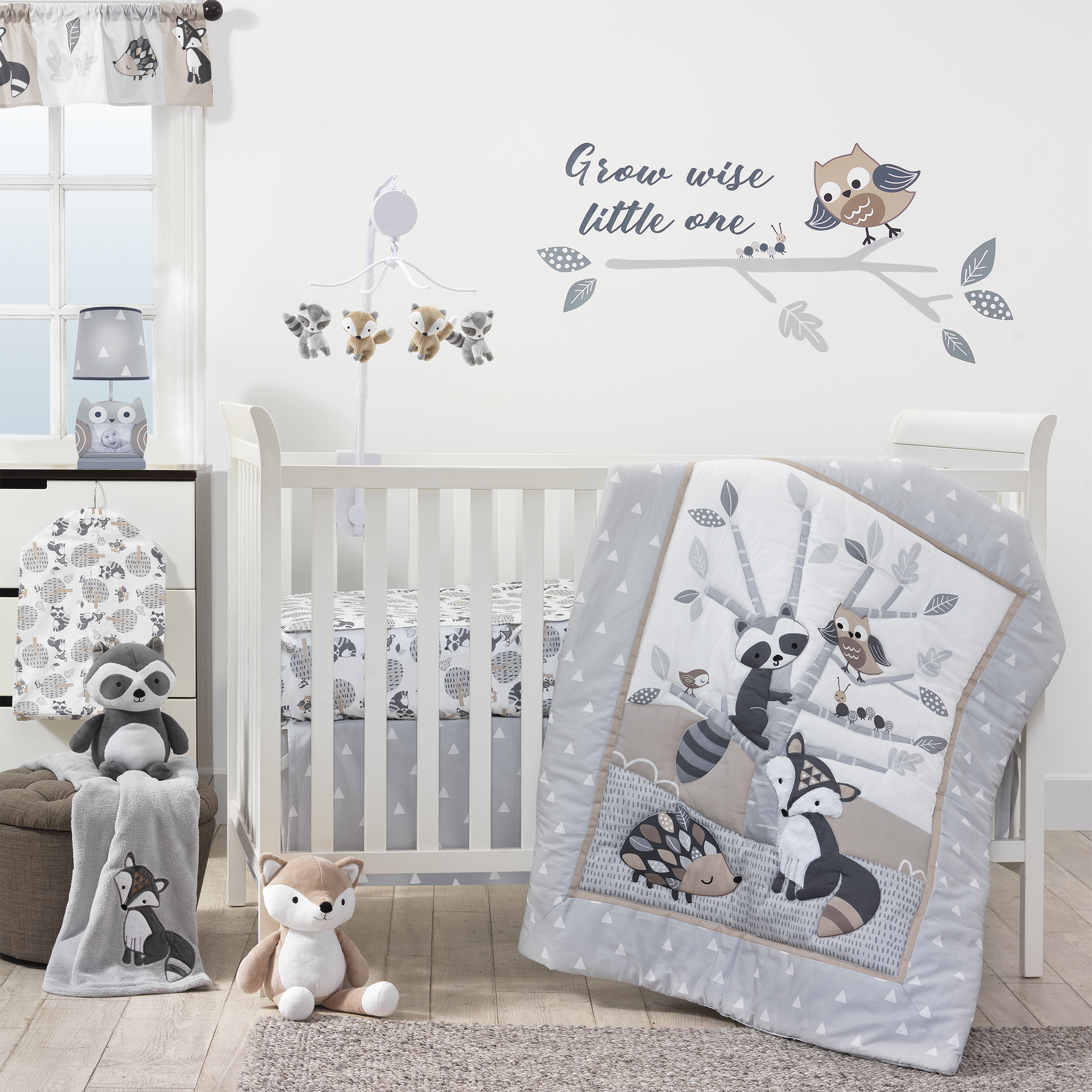 Lambs & Ivy Bedtime Originals Little Rascals 3 Piece Bedding Set