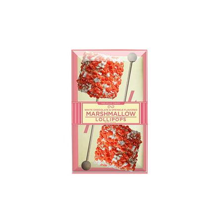 Giant Marshmallow with Orange Cream Crunch Lollipop, 2 Pack, 3 Count (Giant Lollipop)