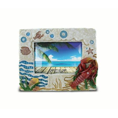 "Stone Frame - Lobster 5""X3.5"""