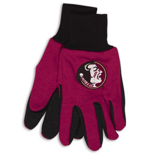Florida State Seminoles Two Tone Gloves Adult by Wincraft, Inc.