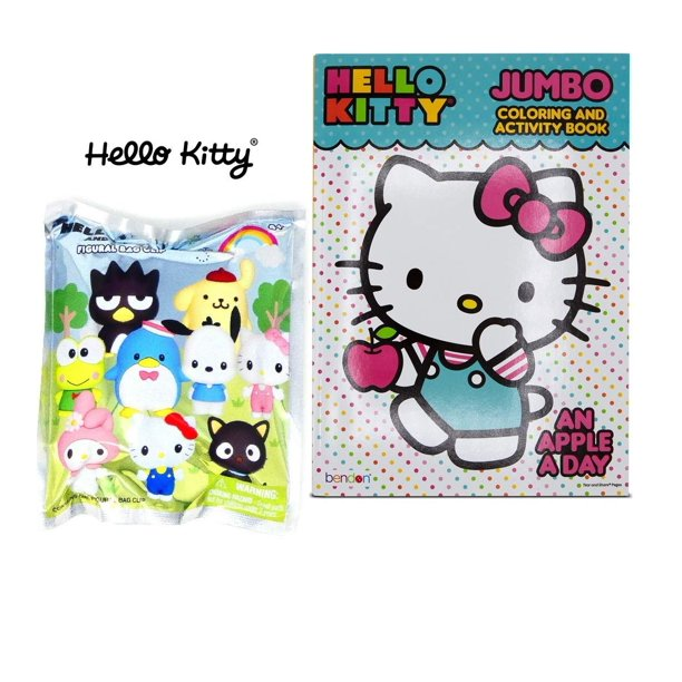 Warp Gadgets Bundle Hello Kitty Mystery Blind Bag And Hello Kitty Coloring Book 2 Items Walmart Com Walmart Com