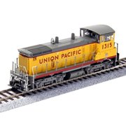 Broadway Limited 3327 HO SW1500 w/DCC & Sound, UP #1327 Multi-Colored