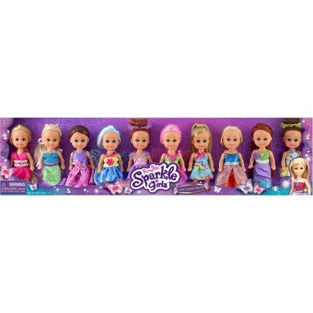 Little Friend Collection Princess, Fairy and Fashion, 10pk