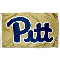 Pittsburgh Panthers Gold 3' x 5' Pole Flag