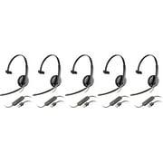 Plantronics Blackwire C310-M Mono Corded Headset (5 Pack)