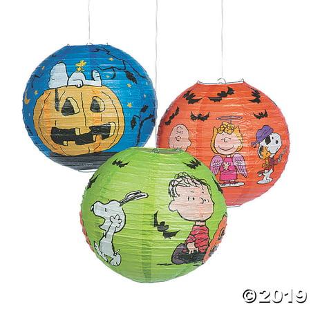 Peanuts® Hanging Paper Lanterns Halloween