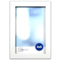 Mainstays Linear Picture Frame, White (Multiple Sizes)