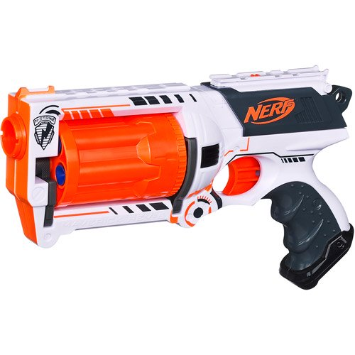 NERF N-STRIKE Whiteout Series Maverick Rev-6 Blaster