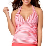 Collections By Women's Marina Stripe Halterkini Top