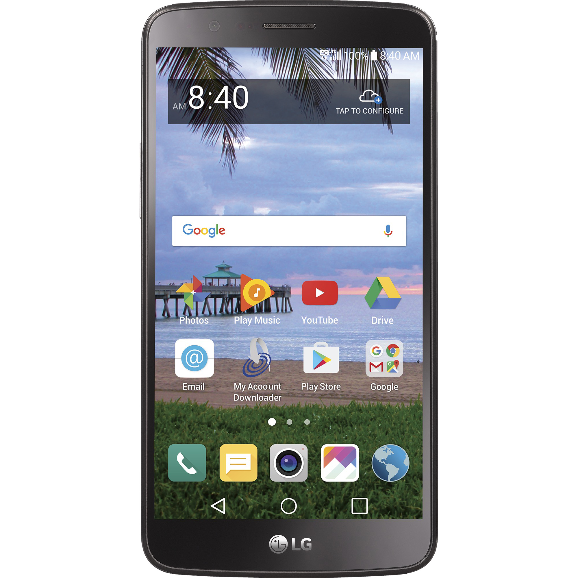 Straight Talk LG Stylo 3 16 GB Prepaid Smartphone, Black