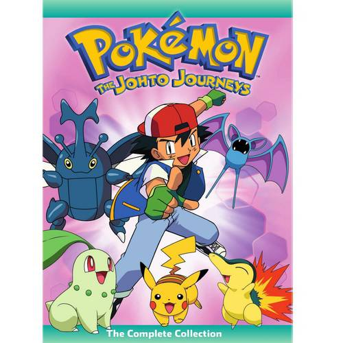 Pokemon: The Johto Journeys: The Complete Collection (Japanese)