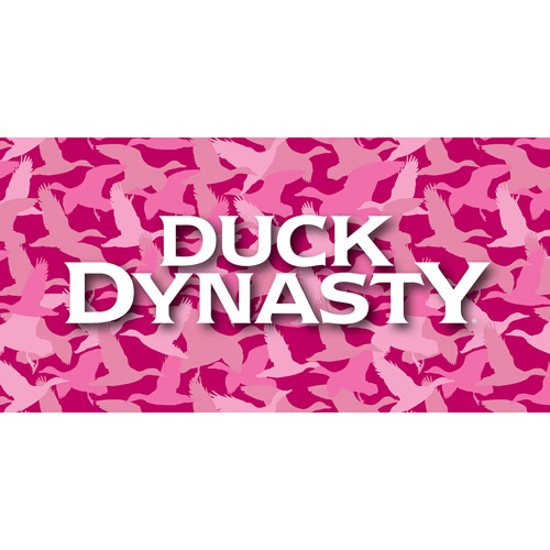 "Duck Dynasty ""Pink Camo"" Microfiber Body Pillow"