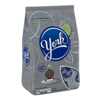 York, Peppermint Patties Dark Chocolate Candy, 40 Oz