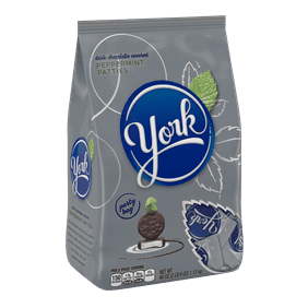 York Peppermint Patties Dark Chocolate Candy 40 Oz
