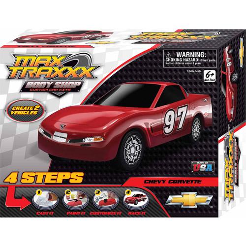 Skullduggery Max Traxxx Body Shop Corvette Casting Kit