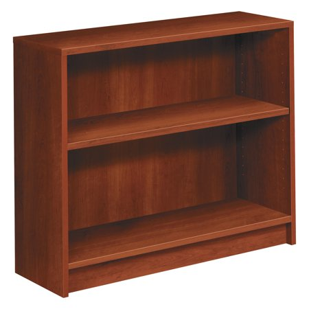 Hon 1870 Series Bookcase  Two Shelf  36W X 11 1 2D X 29 7 8H  Cognac
