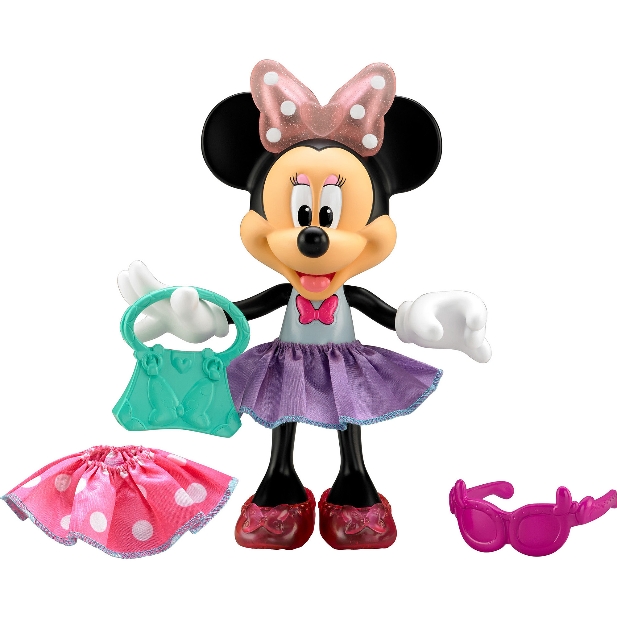 Fisher-Price Minnie Mouse Glitz & Glam Minnie Doll