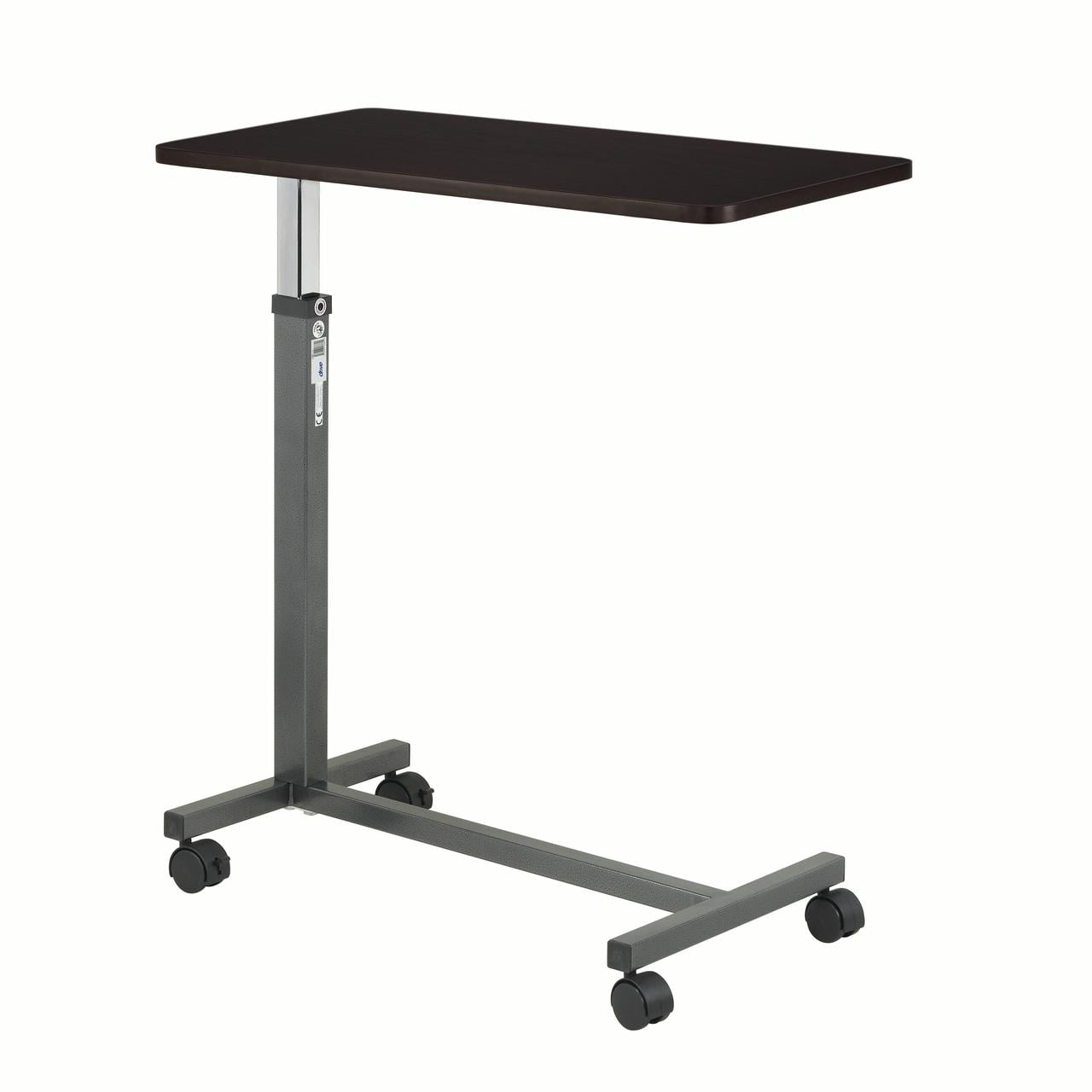 Transser Portable Laptop Rolling Cart Standing Table Portable Height Adjustable Bedside Mobile Laptop Computer Stand Desk with Removable Wheels Shipping From NJ. White