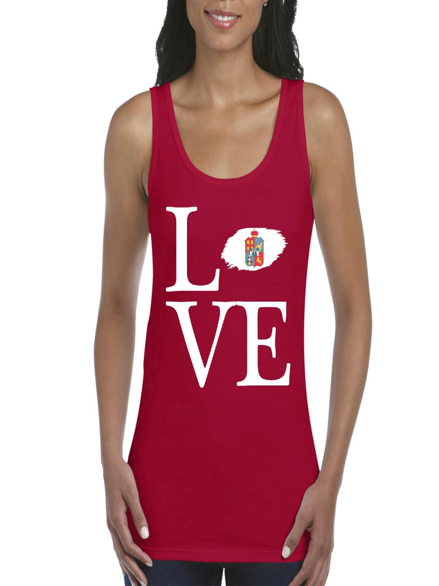 0b7702462d12a3 Normal is Boring - Love Mexico State of Tabasco Women s Tank Top Clothes -  Walmart.com