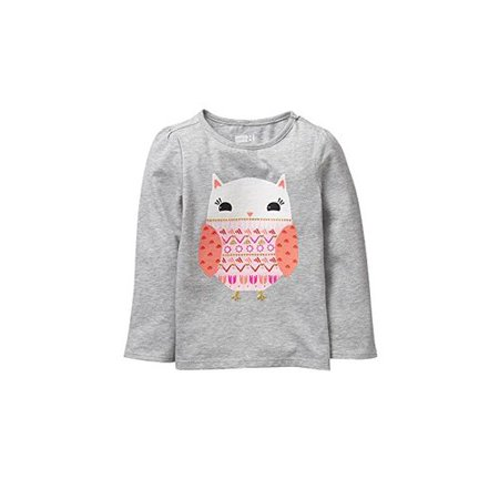 46ffee419adf Crazy 8 - Crazy 8 Toddler Girls' Her Li'l Long-Sleeve Graphic Tee, Stars  Hearts, 6-12 Mo - Walmart.com