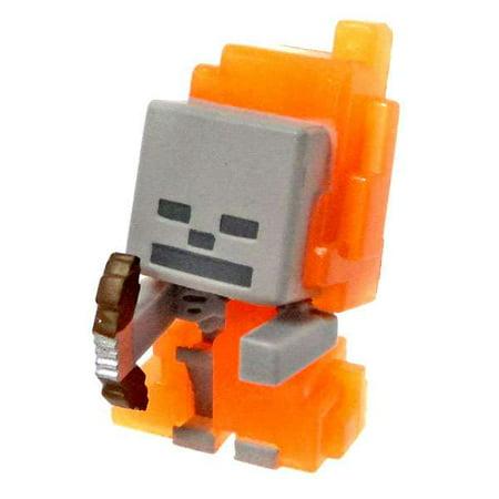 Skeleton Figure (Minecraft Ice Series 5 Skeleton in Flames Mini)