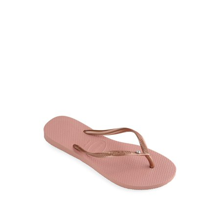 a341572144ec Havaianas - Slim Swarovski Crystal Flip-Flops - Walmart.com