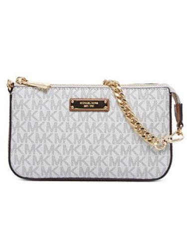 9333e3ca9719 discount code for holding michael kors handbag 95682 bfcfa  coupon code for  michael kors jet set logo chain wallet vanilla 58e1f 3e5a0