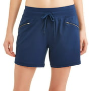 Women's Active 5 Inseam Utility Short with Zip Front Pockets
