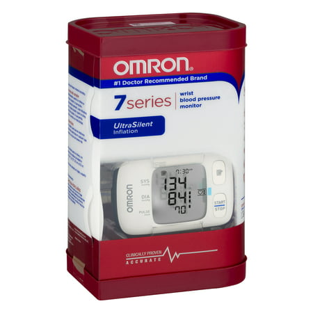 Omron 7 Series Wrist Blood Pressure Monitor Automatic BP652N 1 Each (One (Best Automatic Wrist Blood Pressure Monitor)