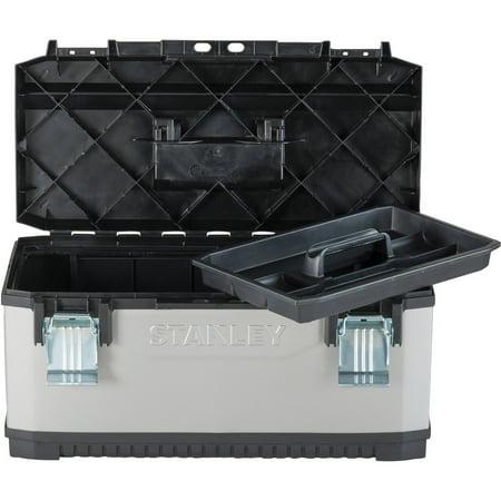 Stanley Fatmax Metal Plastic Tool Box, 26 In.