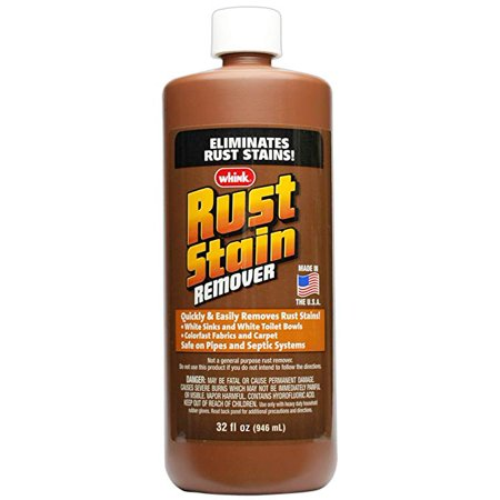 whink rust stain remover 32 ounce. Black Bedroom Furniture Sets. Home Design Ideas