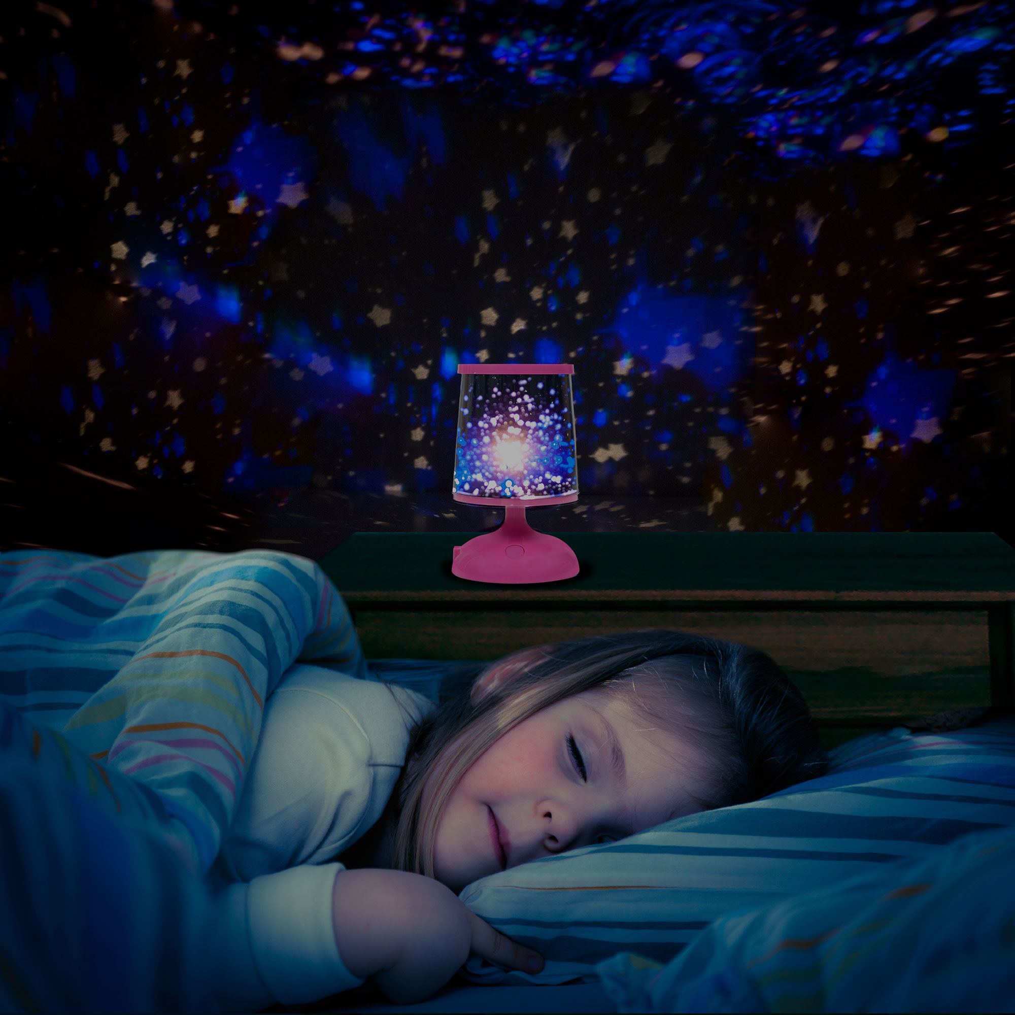 Constellation Star Projector Night Light by Hey! Play! by Trademark Global LLC