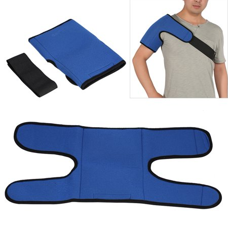 Reusable Blue Hot Cold Pack Shoulder Wrap,Ice Pack Gel Shoulder Wrap Pain Relief Body Hot and Cold Therapy Wrap Ice Pack With Strap For Back Shoulder,Ice Pack Gel,Body Hot and Cold Therapy