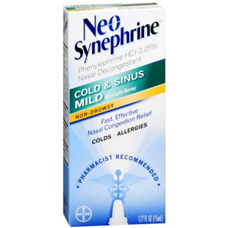 Neo-Synephrine aerosol leve 3 Frascos de 15 ml