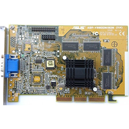 Asus AGP-V3800 TNT2 Graphics Card- 5105-5340 - Refurbished