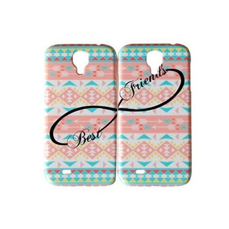 Set Of Pastel Aztec Best Friends Phone Cover For The Samsung Galaxy S4 Case For iCandy