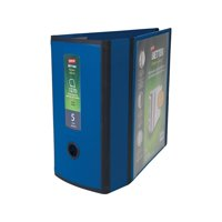 Staples Better 5-inch 3 Ring View Binder Blue 1618003