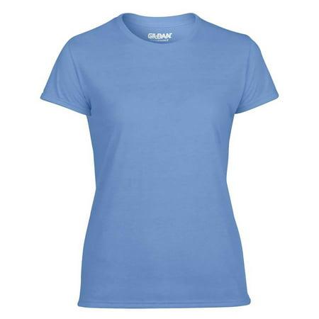 Gildan Missy Fit Womens Small Adult Short Sleeve T-Shirt, Carolina Blue