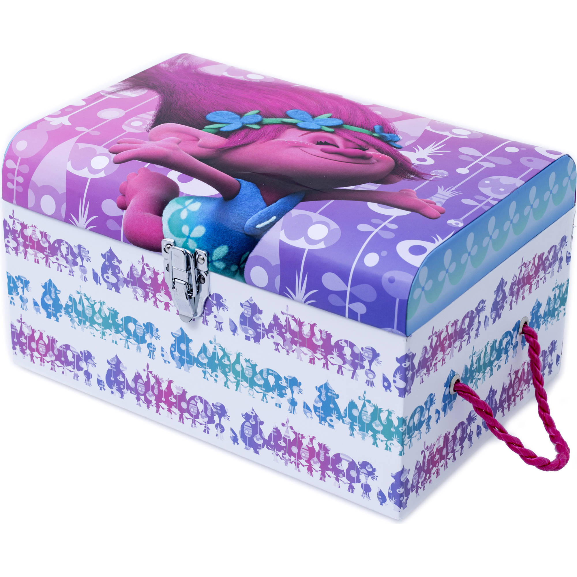 Trolls Medium Storage Trunk, Multi-Color