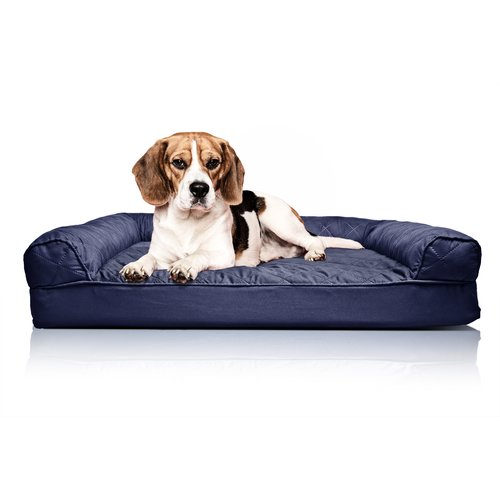 Archie & Oscar Bernice Quilted Orthopedic Sofa-Style Dog Bed
