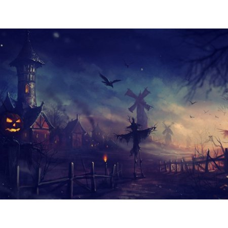 Halloween 5D Diamond Painting Cross Stitch Painting Home Party Decor by Number Kits without Frame 16