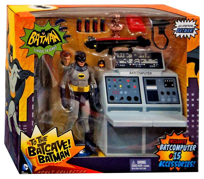 Batman 6-Inch Classic TV Series To the Batcave Batman Figure FREE SHIP